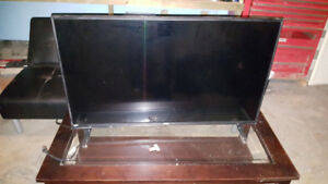 "40"" tv foosball table and treadmill"