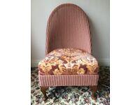 Vintage LLoyd Loom 'Lusty' Nursing Chair