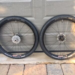 Superstar Stans Arch 29er MTB wheelset with Schwalbe tires
