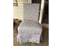 Bedroom/Bathroom/Nursing chair with Celia Birtwell loose cover
