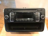 Genuine VW Caddy Transporter RCD 210 CD Radio Head Unit