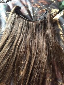 Real hair halo Extensions 20 inch long brand new