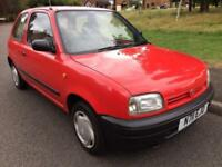 NISSAN MICRA 1.0L 1995 LOW MILEAGE FULL SERVICE HISTORY