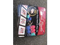 GRAND ROYALE BOXED POKER CARD GAME TEXAS HOLD EM