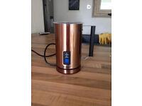 Copper Milk Frother VonShef
