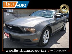 2011 Ford Mustang Convertible - Perfect Summer Car!!! - Must See