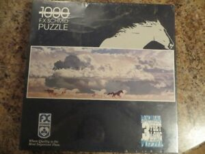 3ft Panorama Galloping Horse Puzzle