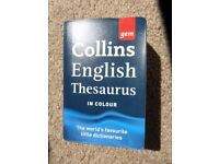 Thesaurus and Dictionary £1 each