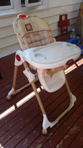 High Chair and Training Pottie