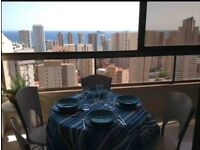 Spectacular views in Benidorm