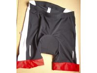Cycling shorts, sizr 34-38 with great pad new with tags