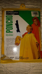 Child Rain Poncho