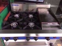 COMMERCIAL 3 IN 1 GRILL + OVEN + COOKER CATERING RESTAURANT DINER MEAT BBQ KITCHEN SHOP TAKEAWAY