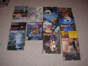 Vintage Dragon Magazines collection