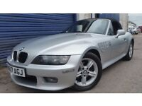 2000 BMW Z3 2.0 ROADSTER LEFT HAND DRIVE LOW MILEAGE NEW MOT EXCELLENT CONDITION