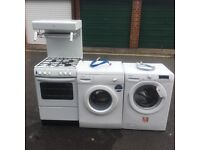 As new- new world gas cooker