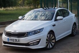 2012 KIA OPTIMA AUTO - LUX - LEATHER / CAMERA