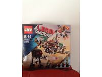 Brand new boxed and sealed Lego Movie set