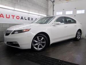 2013 Acura TL BLANC PERLE CUIR NOIR TOIT OUVRANT