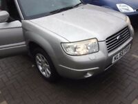 Subaru Forester XE Auto 2006 face lift model best offer accepted...