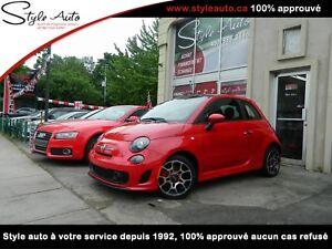 2014 Fiat 500 SPORT TURBO TOIT