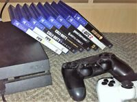 PS4 Console, Controller and Games