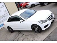2014 MERCEDES-BENZ E CLASS E220 CDI AMG SPORT AUTO 168 BHP *BLACK EDITION SPEC*(FINANCE & WARRANTY)