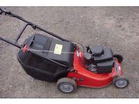 lawnmower mountfield self propelled petrol rotary mower