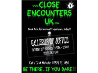 GHOST HUNT - THE GALLERIES OF JUSTICE (Nottingham) .... 25th November .... ONLY £49pp