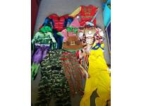 Boys costumes bundle size 7-8 years