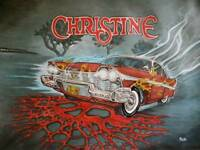 John Carpenters CHRISTINE. Hand painted.
