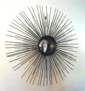 Mid Century Modern, Atomic, Starburst....Big 28 Inches !!