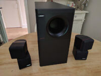 Bose Acoustimas Speakers + Cinema System - Excellent Condition