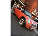 Mini Cooper Convertable. New MOT until August 2018. Recently serviced