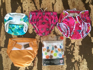 Swim diapers, All in one, training pants