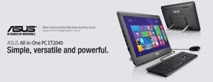 """ASUS ET2040IUK - 19.5"""" RAM 2GB/HDD 500 GB - BNIB"""
