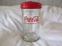 Coca Cola retro sugar jar