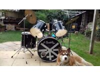 Nevada Pro drum kit with Pearl cx 500 symbol