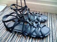 New Look Lace Up Sandals UK 7
