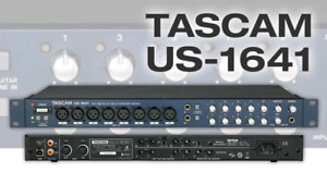 Tascam US 1641   16in/4out digital audio interface