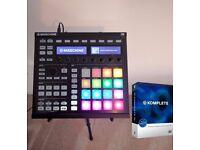 Native Instruments Maschine MK2 bundle. Full Komplete 10, 8 expansions, stand & decksaver
