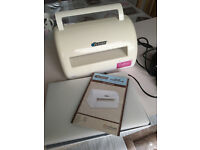 Crafters Companion, Ebosser, nearly new, surplus to requirement