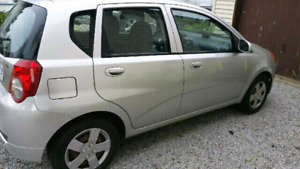 Chevy Aveo5 2010 Manual. WANT GONE ASAP. PRICED TO SELL.