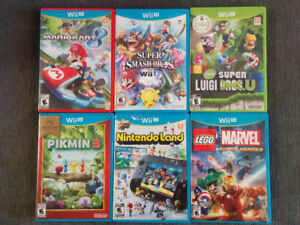 Nintendo Wii U Games  - Jeux Video Nintendo Wii U