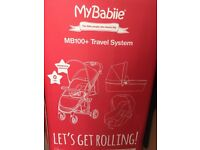 Billie faiers 3in 1 star travel system