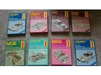 Haynes manuals £10 each