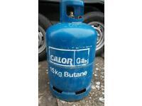 Empty calor gas bottle 15kg butane caravan propane 13kg