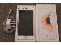 Iphone 6s 64gb gold mint condition!! Cheap! Boxed