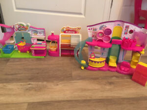 3 Shopkins Playsets