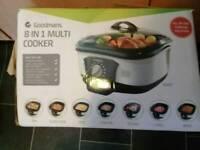 Goldman's 8 in 1 multi purpose cooker